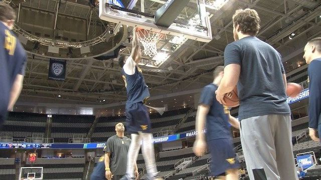 Sights and Sounds as WVU Preps for Sweet Sixteen