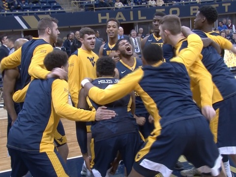 18 WVU Earns Backyard Brawl Win | West Virginia