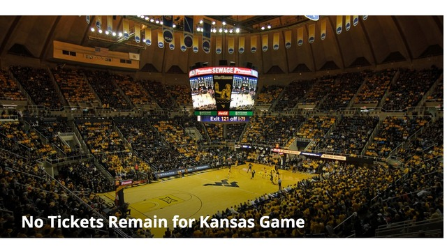 Another sell out game: No tickets remain for Kansas on Monday night