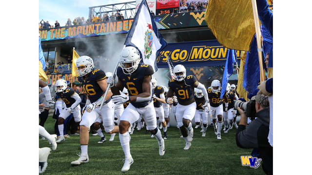 Game time announced for WVU Football vs. NC State