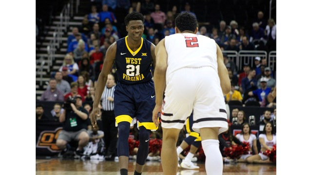 WVU's Harris charged with battery