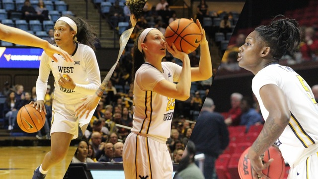 Women's hoops trio earns preseason conference Honors