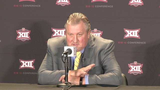 WATCH: Huggins, players preview season at Big 12 Media Day