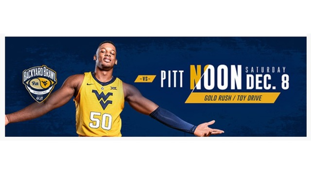 Update: GAME SOLD OUT *** Additional tickets for WVU vs. Pitt basketball now on sale