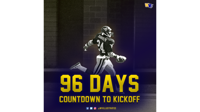 Countdown to Kickoff: 96 Days