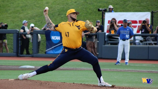 Manoah becomes first Mountaineer to earn three first-team All-American honors